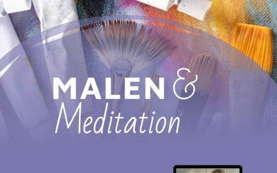 Malen und Meditation: Die individuelle Kraft der Farben