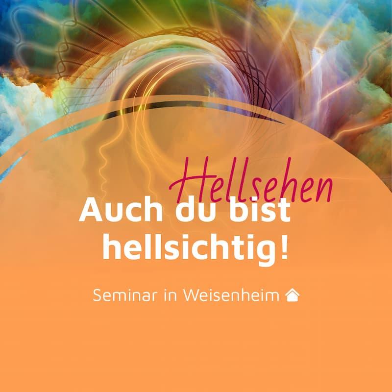 Live-Seminar: Auch du bist hellsichtig – Dein Einstieg in den Ausstieg